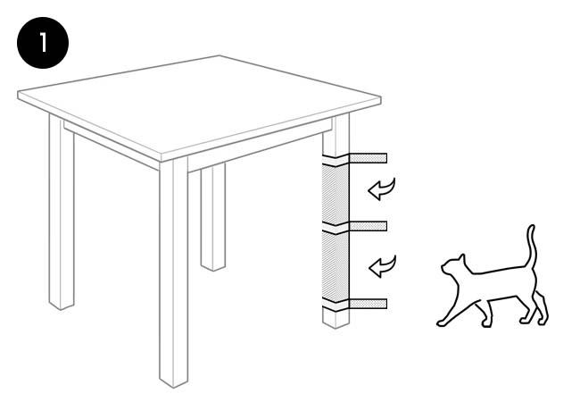 Drapaki dla kotów - Panakota - instrukcja